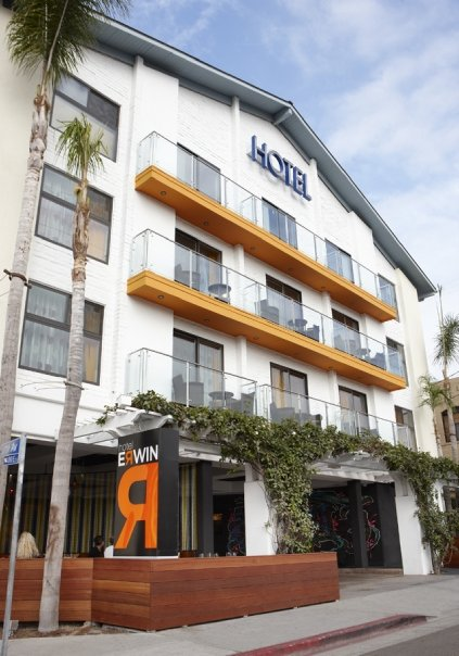Hotel Erwin Located In Venice Beach