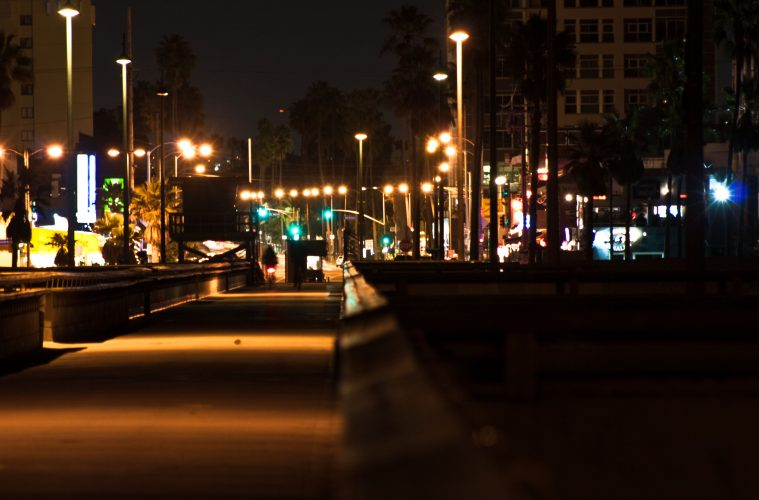 The Venice Pier At Night Photos And Write Up By Matthew
