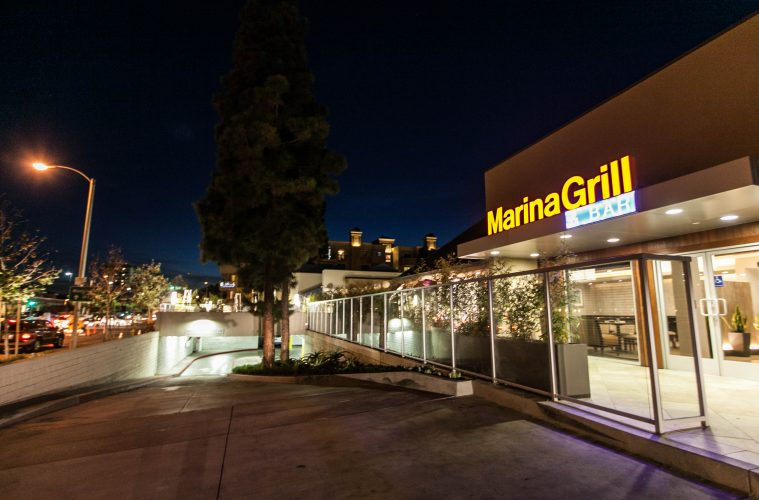 new hotel restaurant and event space in marina del rey venice paparazzi rolled out the red carpet for hilton garden inn marina del rey marina grill and - Hilton Garden Inn Marina Del Rey