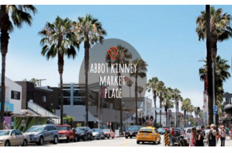 Saays In Venice Are The Abbot Kinney Marketplace Artists And Fleas Art Collectables Market
