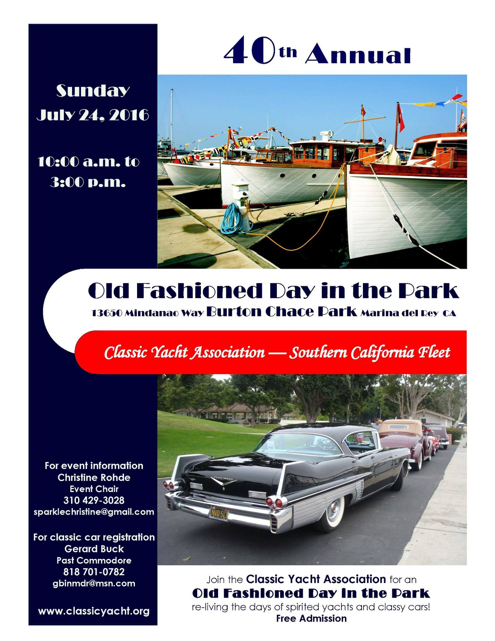 Old Fashioned Day in the Park in Marina del Rey! – Venice Paparazzi ...