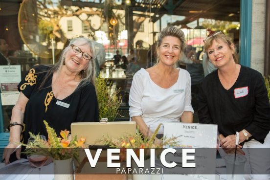 The Venice Chamber welcoming committee
