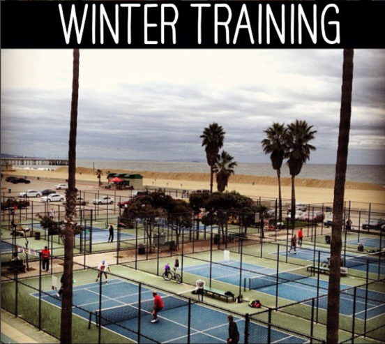 Play a game of Paddle tennis or run the sand dunes! #VeniceBeachFun