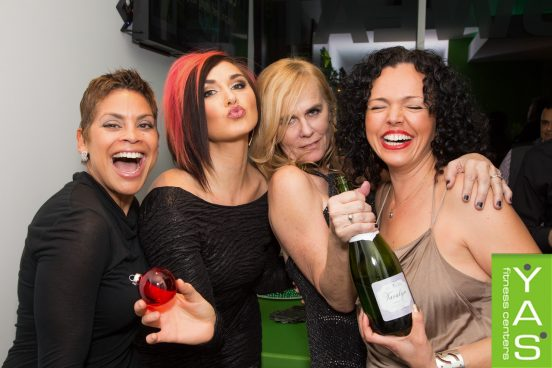 YAS Fitness Centers' Holiday Party 2015. www.Go2Yas.com. Photo by Team Venice Paparazzi