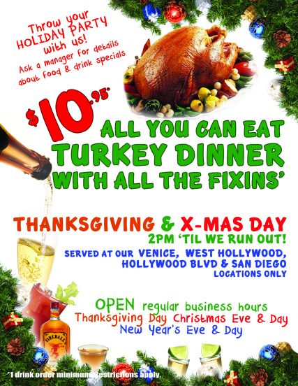 Flyer - Holiday Meal