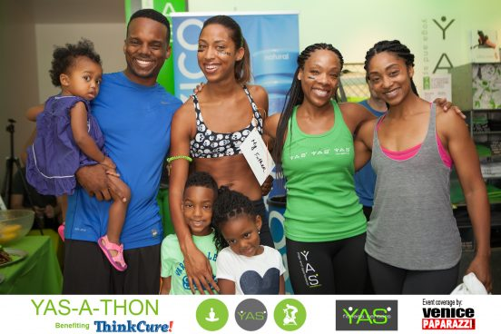 2015 YAS-A-THON. Event benefits ThinkCure! www.Thinkcure.org Hosted by YAS Fitness Centers www.Go2Yas.com. Photos by www.VenicePaparazzi.com