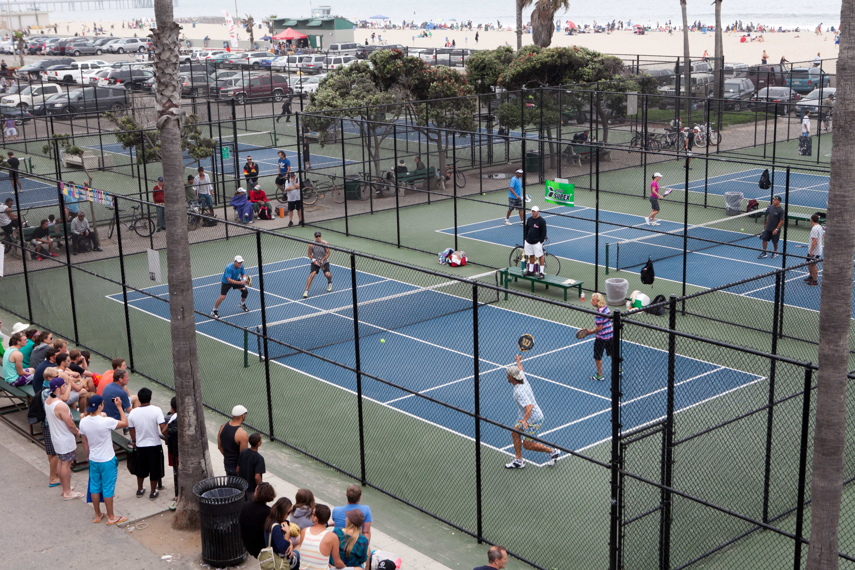 Venice Beach Paddle Tennis Mixed Doubles Tournament Paparazzi Ca Photo Agency Community Info News Events