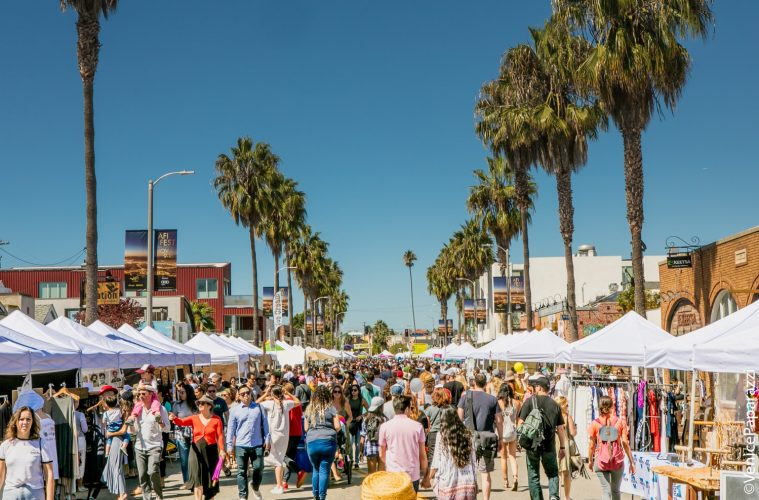 Now In Its 34th Year The Festival Takes Place Along A Mile Long Stretch Of World Famous Abbot Kinney Boulevard Venice California Arguably